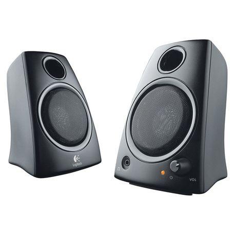 LOGITECH Z130 Stereo Speakers - Black