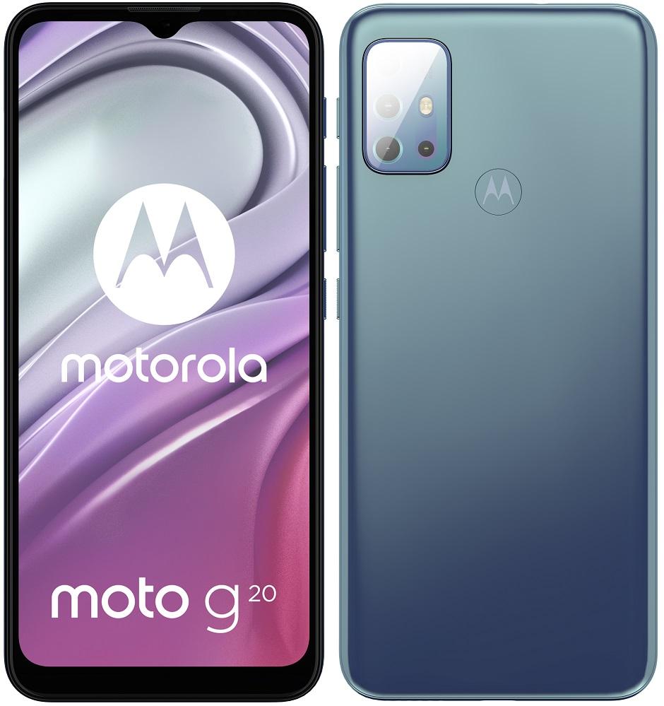 Motorola Moto G20 NFC 4GB/64GB Breeze Blue