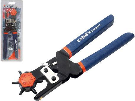 EXTOL PREMIUM 8813820 kleště děrovací kovové, 2-2,5-3-3,5-4-4,5mm