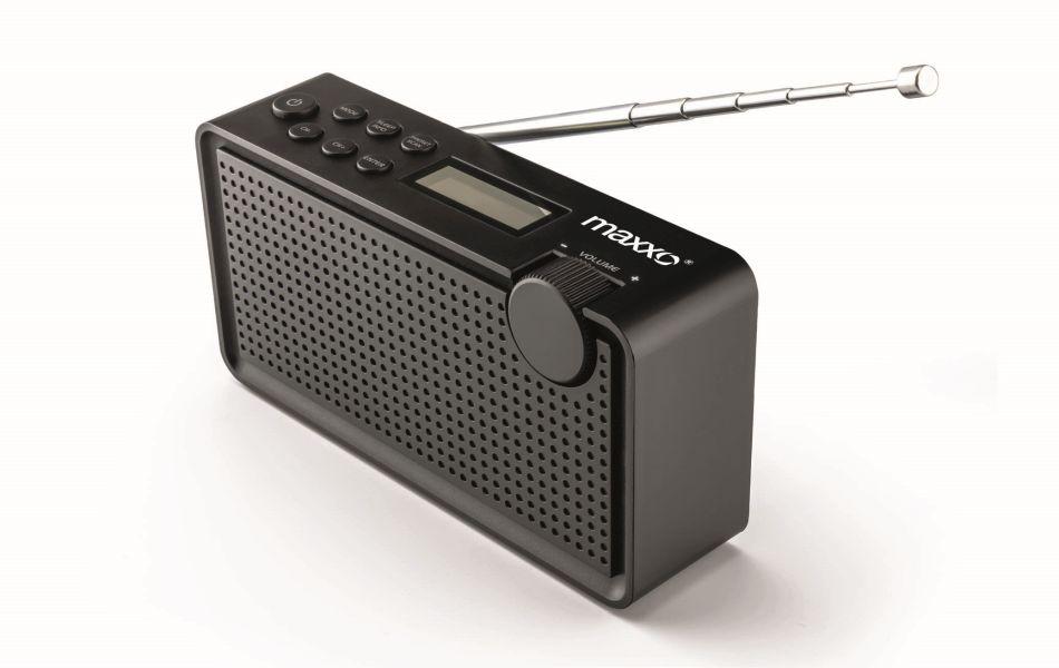 Maxxo Rádio DAB+/FM - PB01