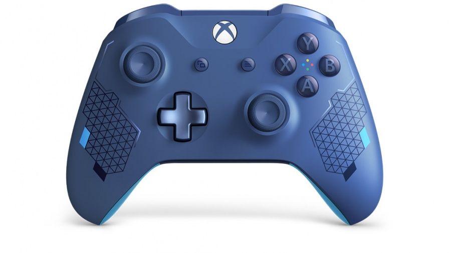 Xbox One Wireless Controller Sport modrá