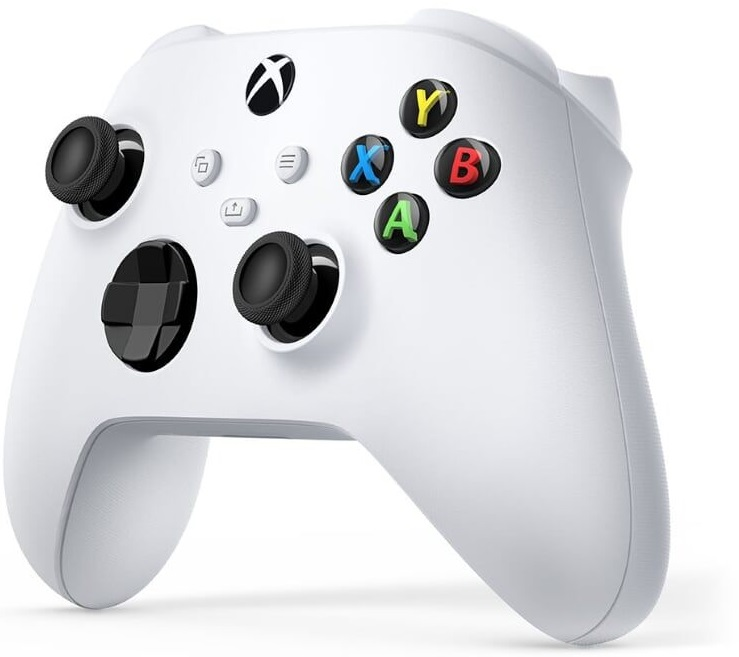 Xbox Wireless Controller Robot White - Microsoft Xbox One Wireless Controller