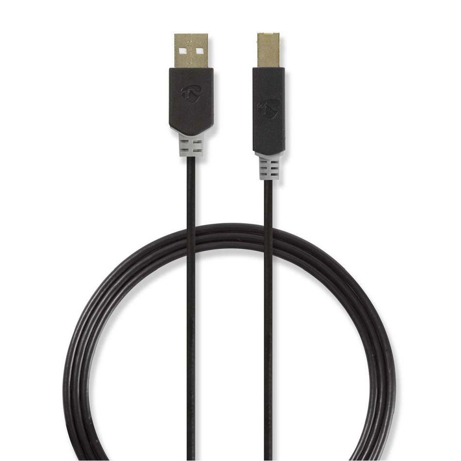 Nedis USB2.0 kabel k tiskárně CCBW60100AT20