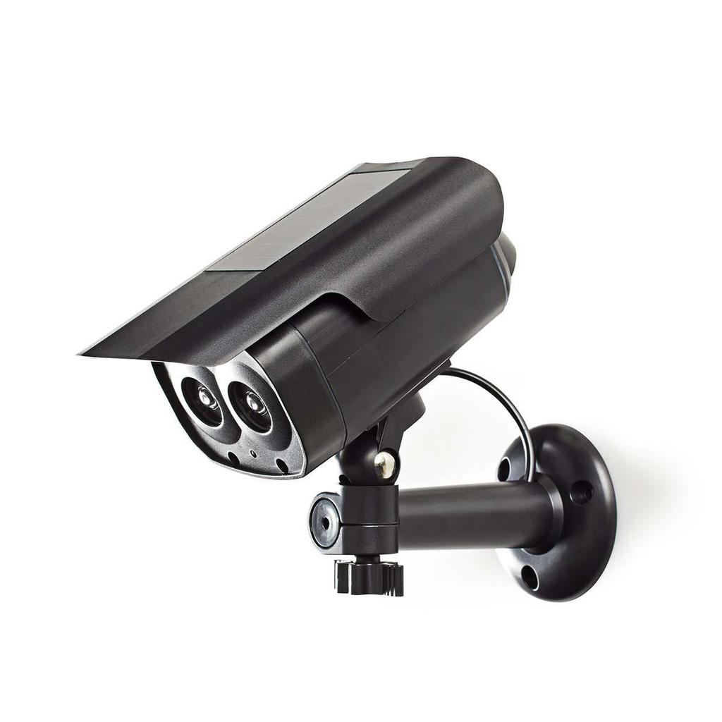 Nedis DUMCBS30BK - Atrapa Bezpečnostní Kamery   Válcové kamery   IP44   Černá barva