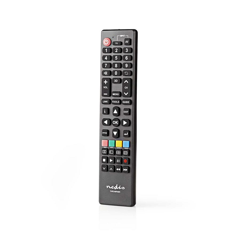 Nedis TVRC40PABK - Náhradní Dálkový Ovladač | Panasonic TV | Připraveno k Použití
