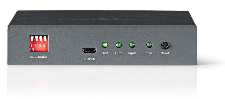 Nedis HDMI Rozbočovač 2 porty VSPL3402AT
