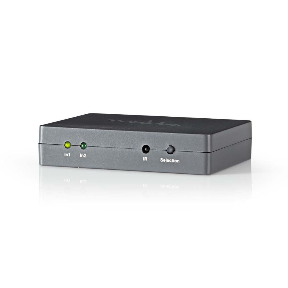 Nedis VSWI3402AT - HDMI™ Přepínač | 2 porty - 2x HDMI™ vstup | 1x HDMI™ výstup