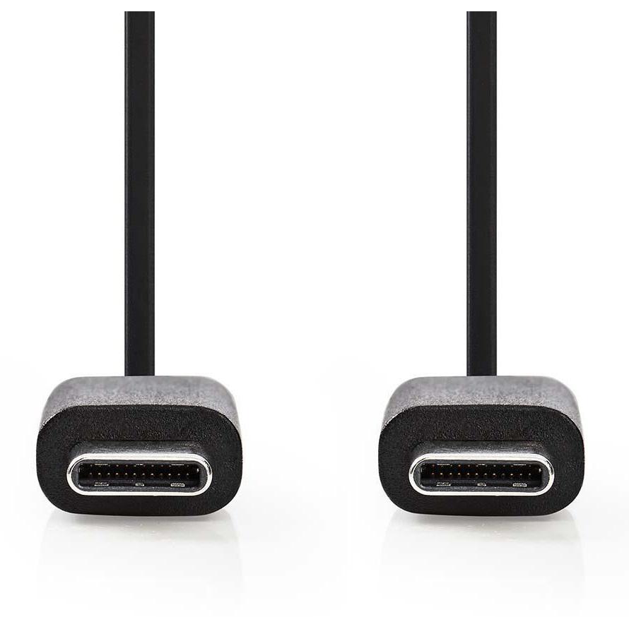 Nedis USB C - USB C 1m CCGB60700BK10