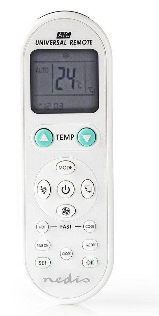 Nedis Univerzální DO Klimatizace ACRC1WT - Dálkový ovladač Nedis ACRC1WT