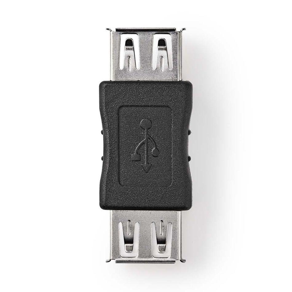 Nedis USB 2.0 Adaptér, A Zásuvka - A Zásuvka CCGB60900BK