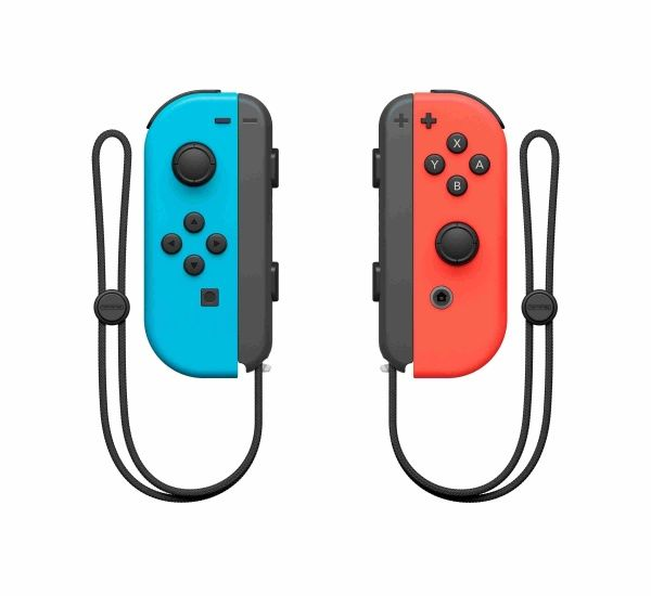 Nintendo Switch Joy-Con ovladače Neon Red/Neon Blue