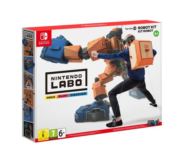 Nintendo Labo Robot Kit (Nintendo Switch)