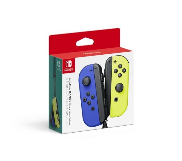 Nintendo Switch Joy-Con ovladače Blue/Neon Yellow