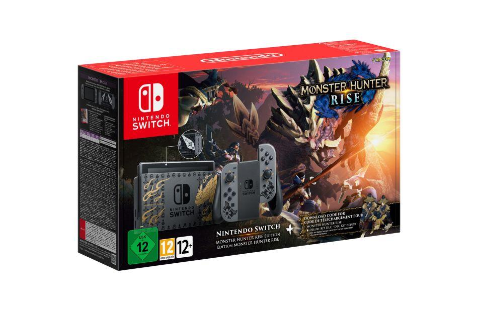 Nintendo Switch Monster Hunter Edition