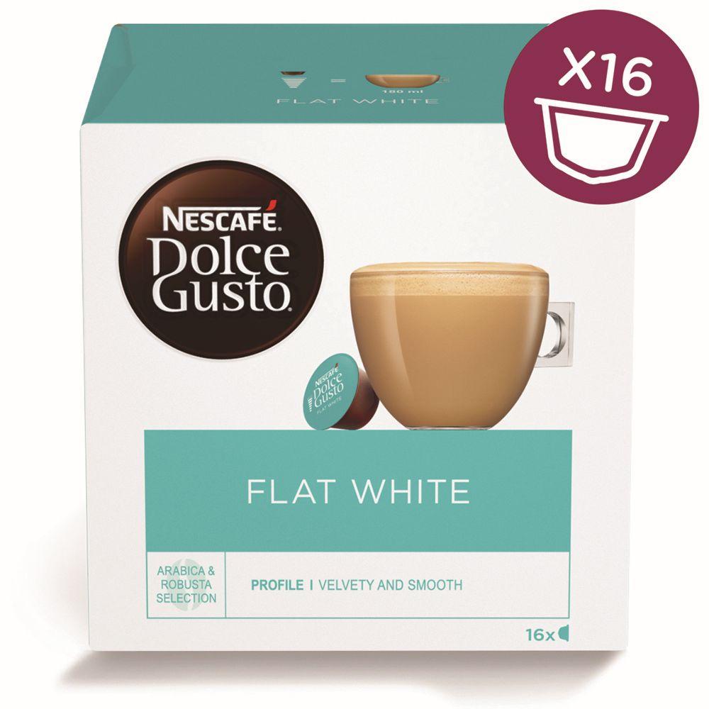 Nescafé Dolce Gusto Flat White - Nescafé Dolce Gusto Flat White kapsle 16 ks