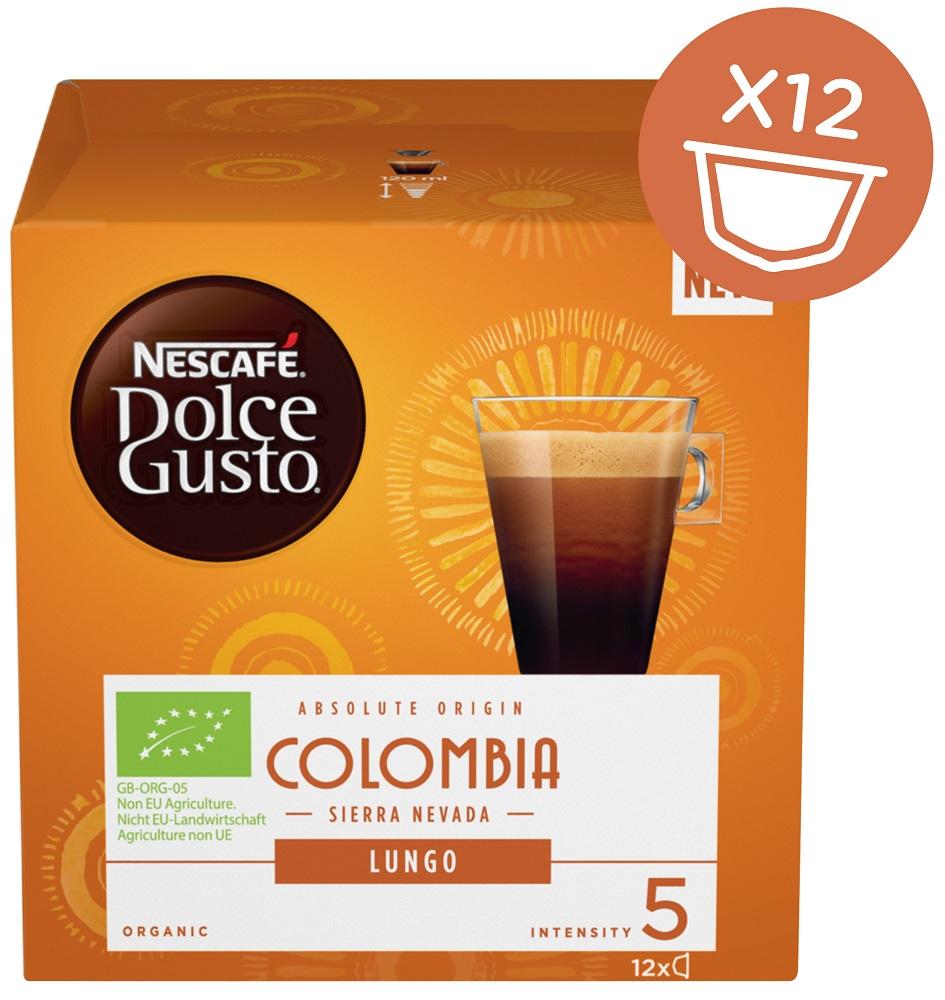 Nescafé Dolce Gusto LUNGO COLOMBIA 12Cap - Nescafé Dolce Gusto kávové kapsle Lungo Colombia 12 ks
