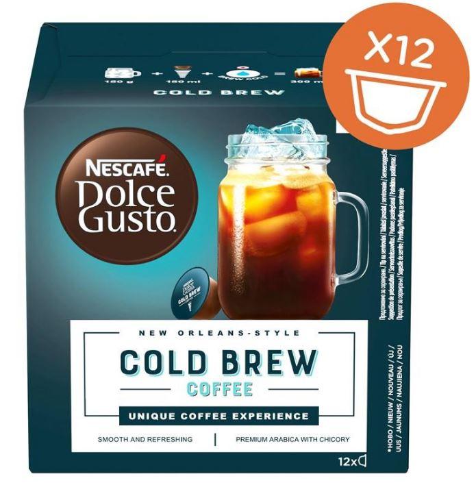Nescafé Dolce Gusto Cold Brew - Nescafé Dolce Gusto Cold Brew 12 ks