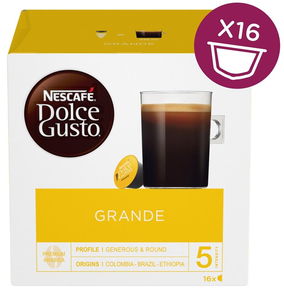 Nescafé Dolce Gusto GRANDE 16Cap - Nescafé Dolce Gusto kávové kapsle Grande 3 ks