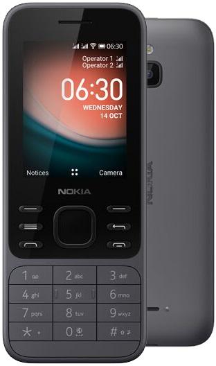 Nokia 6300 4G DS Light Charcoal