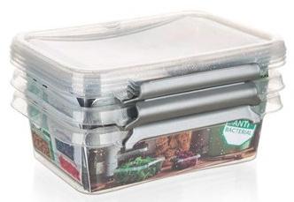 ORPLAST Sada plastových dóz NANO box 350 ml, 3 ks