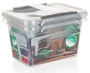 Orplast Sada plastových dóz NANO box 650ml 2ks