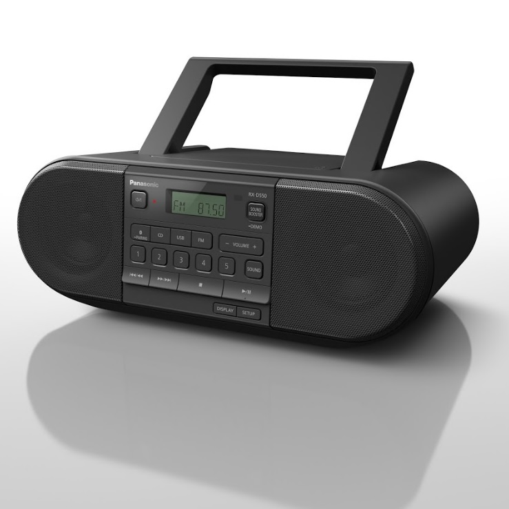 Panasonic RX-D550E-K