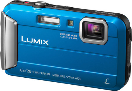 Panasonic LUMIX DMC-FT30 modrý