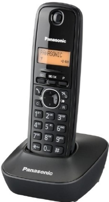 Panasonic KX-TG1611FXH (šedý)