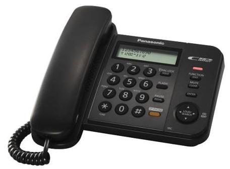 Panasonic KX-TS580FXB CLIP, HF, černý