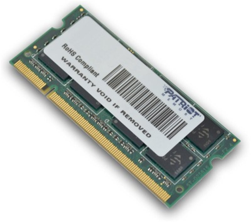 Patriot So-dimm 2Gb Ddr2-800mhz Cl6 Psd22g8002s