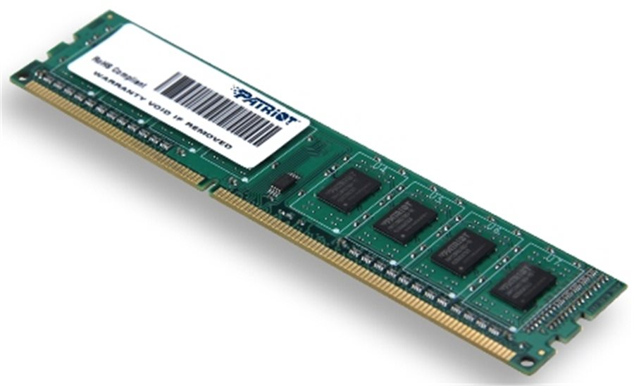 Patriot 4Gb Ddr3 1600Mhz Cl11 Sr s chladičem Psd34g160081h