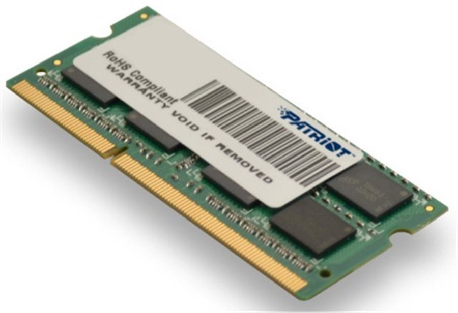 Patriot So-dimm 4Gb Ddr3-1600mhz Cl11 Dr Psd34g16002s