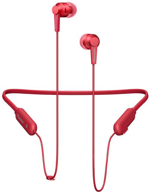 PIONEER SE-C7BT-R, červená