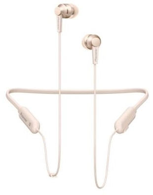 PIONEER SE-C7BT-G sluchátka / BT/ zlatá