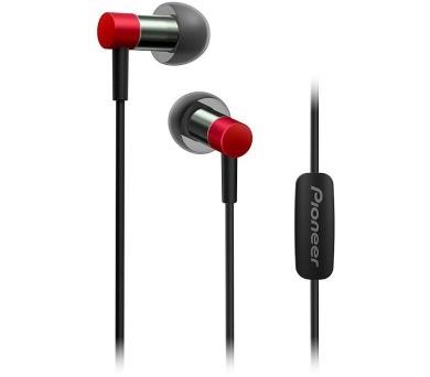 PIONEER SE-CH3T-R sluchátka / červená