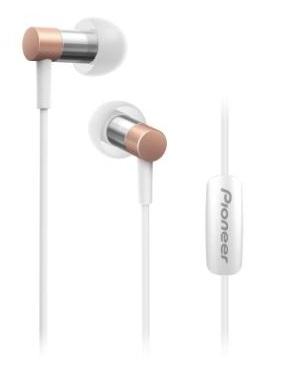 PIONEER SE-CH3T-P sluchátka / růžová