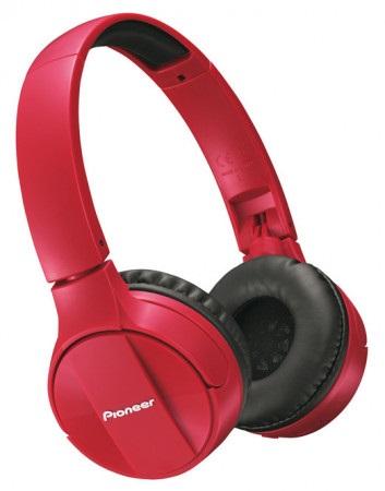 Pioneer SE-MJ553BT-R Sluchátka na uši červená
