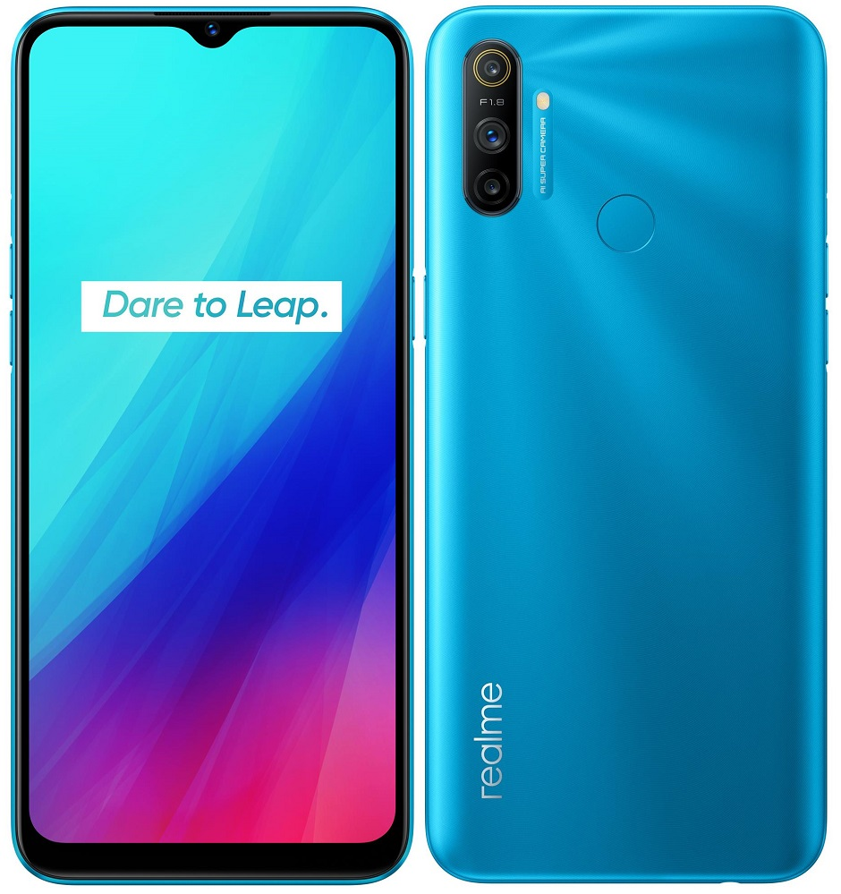 realme C3, 3GB/64GB, Frozen Blue
