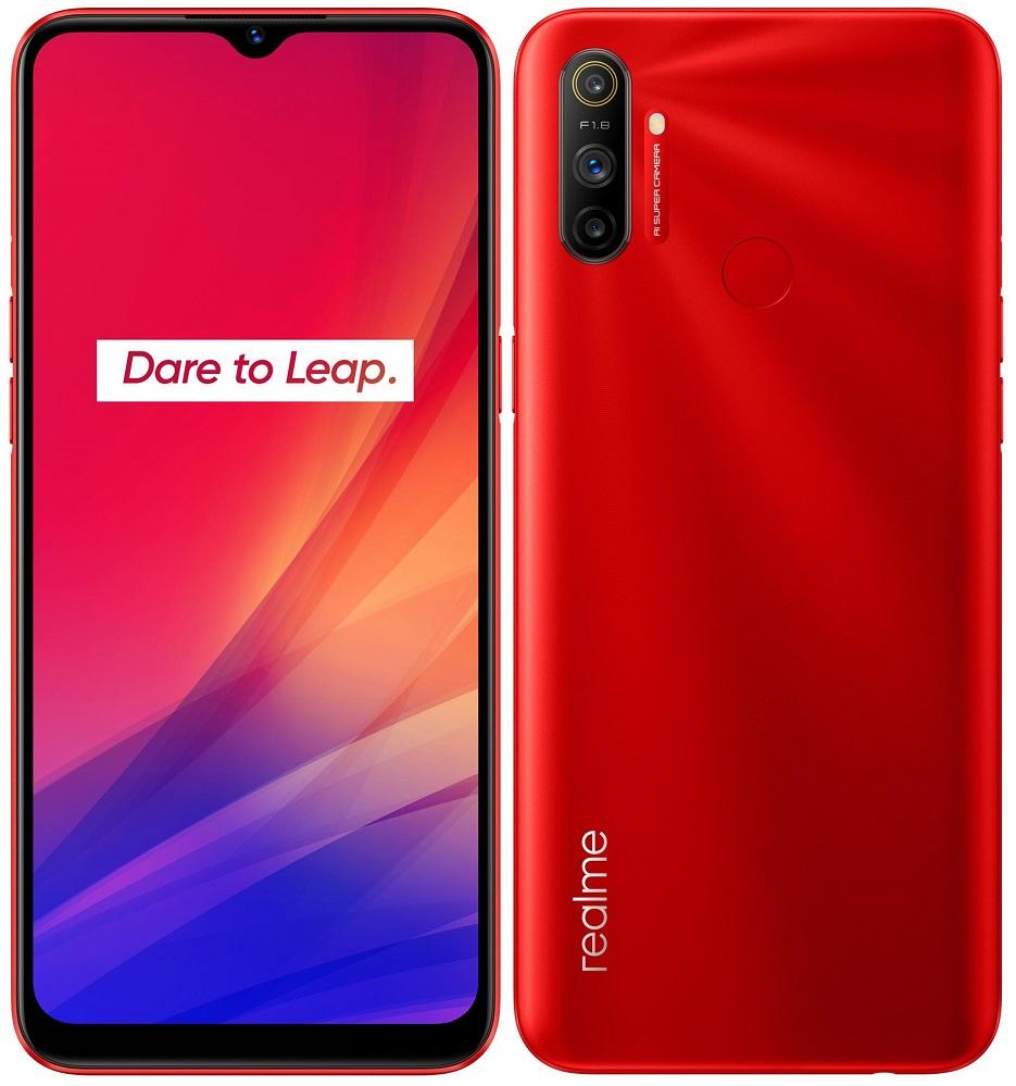 realme C3, 3GB/64GB, Blazing Red