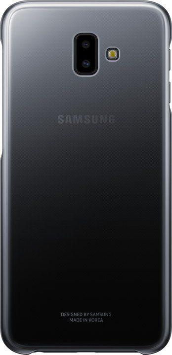 Samsung pouzdro Gradation Cover Galaxy J6+, black EF-AJ610CBEGWW