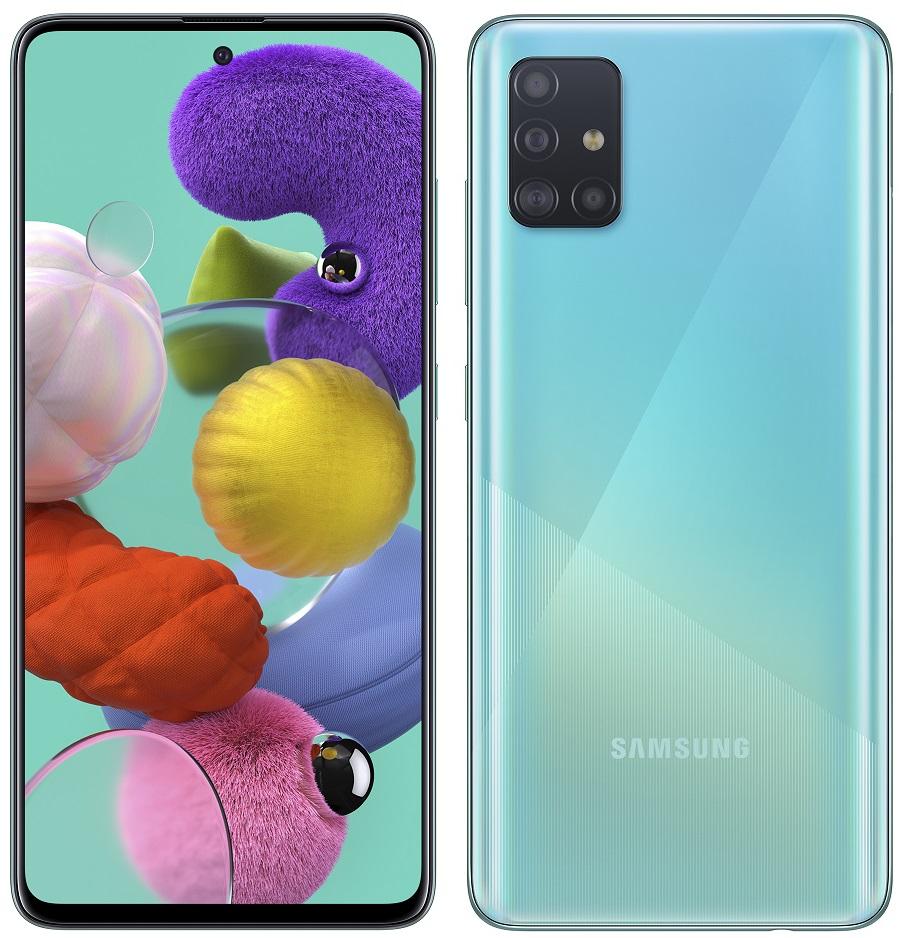 Samsung A515 Galaxy A51 modrá