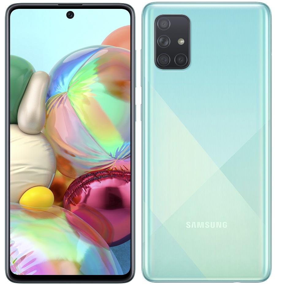Samsung A715 Galaxy A71 modrá