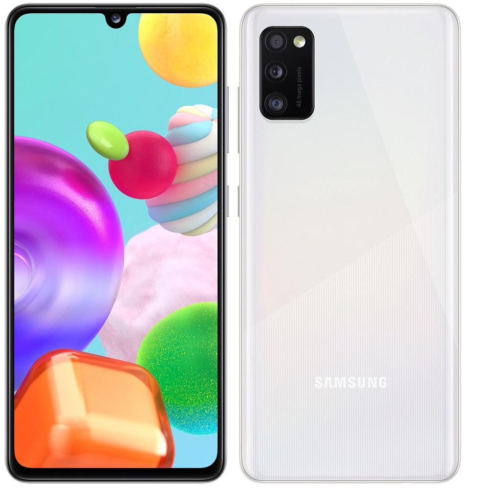 Samsung Galaxy A41 bílá