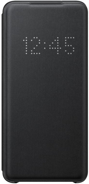 Samsung flipové pouzdro LED View pro Galaxy S20, černá - Pouzdro Samsung EF-NG980PB černé