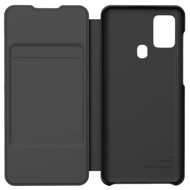 Samsung flipové pouzdro Samsung Galaxy A21s černé - Pouzdro Samsung Wallet Samsung Galaxy A21s černé