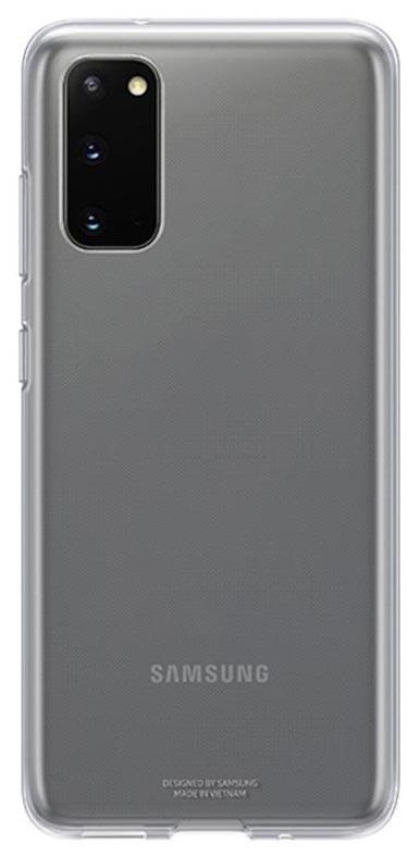 Pouzdro Samsung EF-QG980TT Clear Galaxy S20 - Pouzdro Samsung EF-QG980TT čiré