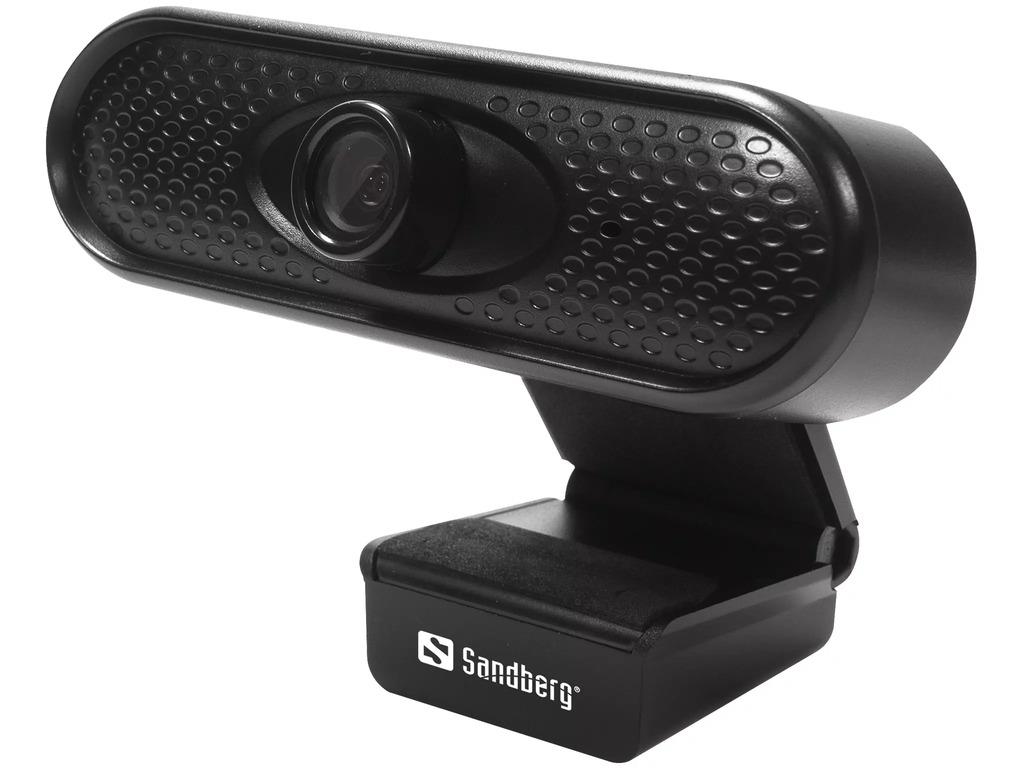 Sandberg USB Webcam 1080P HD černá