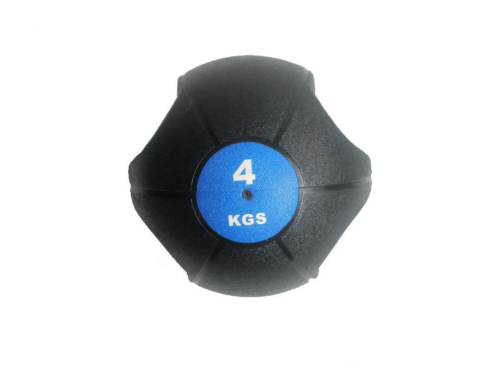 Míč medicinbal dual grip 4 kg - Sedco Dual Grip 4 kg