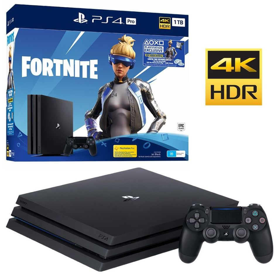 Sony PlayStation 4 PRO 1TB + Fortnite + Gran Turismo Sport + God of War