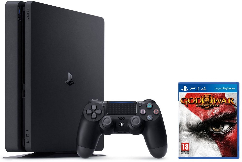 SONY PlayStation 4 Slim 500GB + God Of War